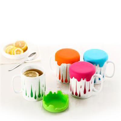 Abrindes - Caneca de café com tampa