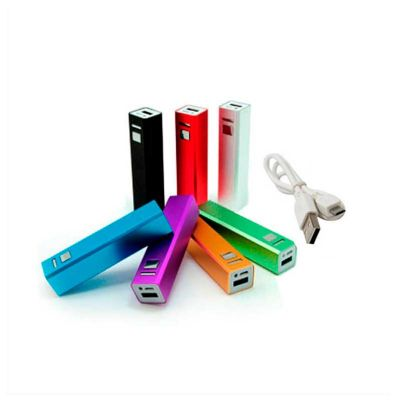 no-ato-brindes - Carregador portátil USB personalizado.