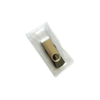 No Ato Brindes - Embalagem para pen drive em PVC, melhor custo / benefício para agregar valor a seu pen drive. Entregamos em todo o Brasil
