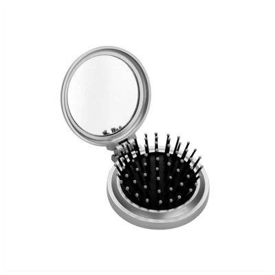 No Ato Brindes - Espelho personalizado com escova.