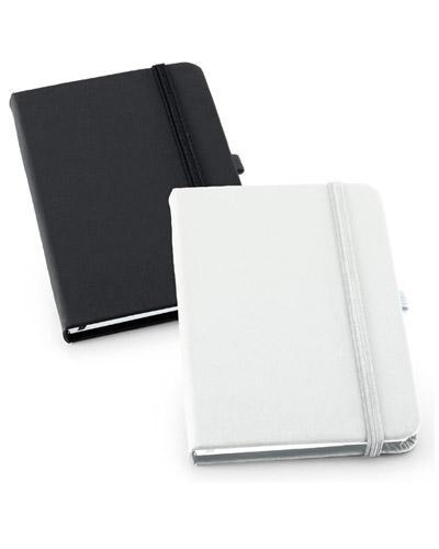 no-ato-brindes - Em couro sintético, o Caderneta personalizada para empresas possui 80 folhas, capa dura e porta caneta. Prático para anotações do cotidiano, é o brind...