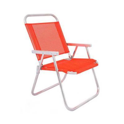 No Ato Brindes - Cadeira de Praia Alumínio