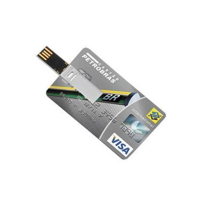 No Ato Brindes - Cartão pen drive com 4 GB Personalizado