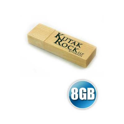no-ato-brindes - Pen drive 8GB Ecológico Personalizado