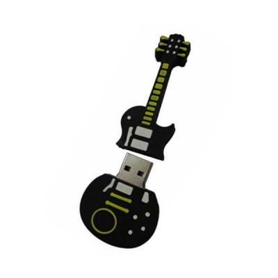 No Ato Brindes - Pen drive Emborrachado Guitarra 2D