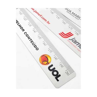 No Ato Brindes - Regua de PVC Personalizada para Brindes