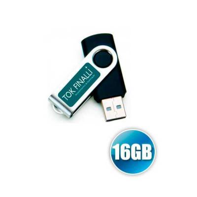 No Ato Brindes - Pen drive 16gb Personalizado