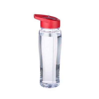 no-ato-brindes - Squeeze Plástico Transparente Personalizado