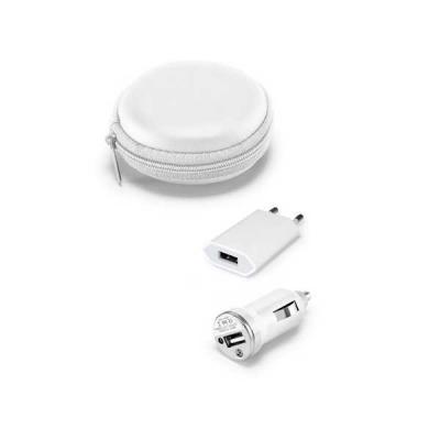 no-ato-brindes - Carregador Veicular USB Personalizado