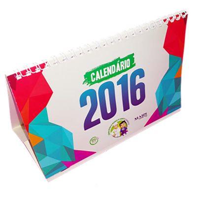 Mobile Promo - Calendário de mesa personalizado.