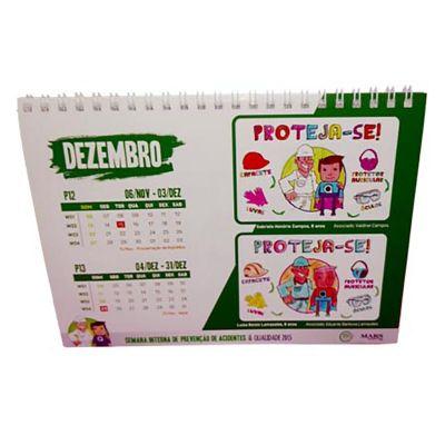Mobile Promo - Calendário de mesa produzido em papel Couchêt,Papel Cartão,PVC.Processo de impressão serigrafia ou Off Set.
