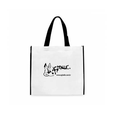 Agitalle Brindes Promocionais - A sacola de Non-wovwn é um produto diferenciado do convencional, pelo fato de ser bem resistente e também ter um designer agradável, possibilitando o...