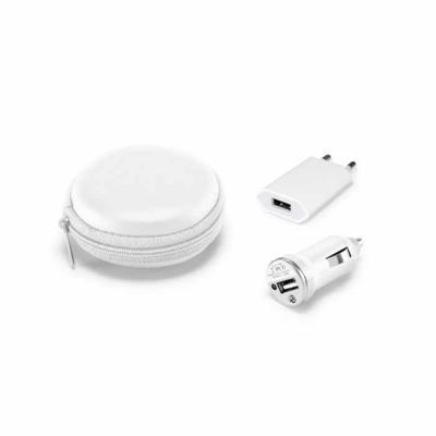 Agitalle Brindes Promocionais - Kit Carregadores USB