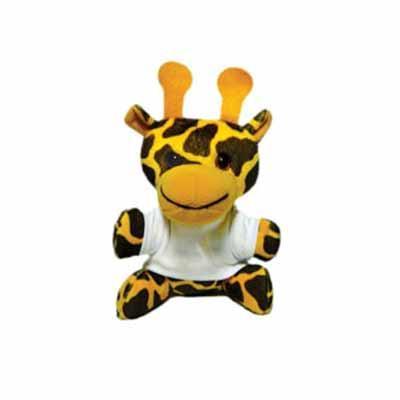 Agitalle Brindes Promocionais - Girafa de Pelúcia
