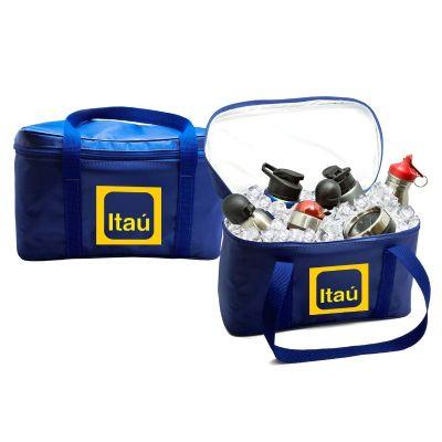 Direct Brindes Personalizados - Bolsa térmica em nylon 70 para 10 litros
