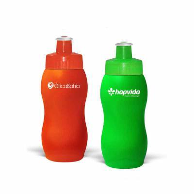 Direct Brindes Personalizados - Squeeze Personalizado em PE resistente e flexível, 250 mL. Bico em PVC Cristal que permite a vedação impecável. Tamanho portátil, ideal para mulheres...