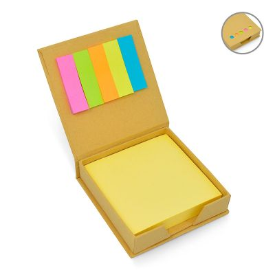 5a196e0a9 Direct Brindes Personalizados - Bloco de anotações Eco com sticky notes