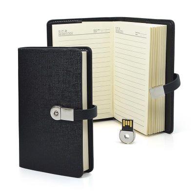 Direct Brindes Personalizados - Kit agenda com pen drive removível