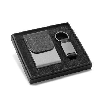 Direct Brindes Personalizados - Kit porta cartões e chaveiro