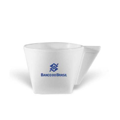 Direct Brindes Personalizados - Xícara CAFÉ, 50 mL, feita em PP que garante durabilidade ao produto. Design exclusivo do Grupo BB. Cores Disponíveis - Linha Sólida: amarelo, branco,...