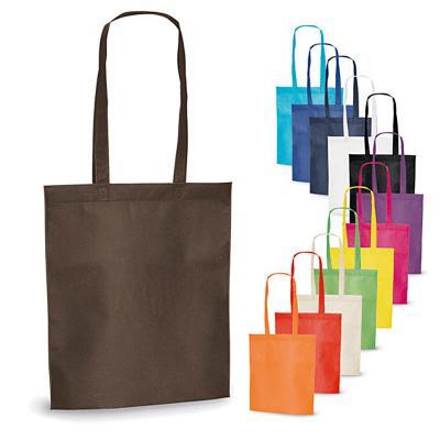 Direct Brindes Personalizados - Sacola em material Non-woven um tecido ecológico 100% reutilizável e fabricado em parte com materiais reciclados.  As sacolas têm uma grande superfíci...