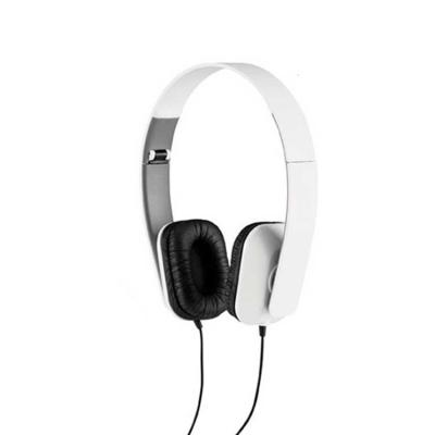 Direct Brindes Personalizados - Fone de ouvido dobrável. ABS Personalizado. Cabo de 1,45 m com ligação stereo de 3,5 mm. Fornecido em caixa com visor. Fechado: 100 x 155 x 50 mm | Ca...