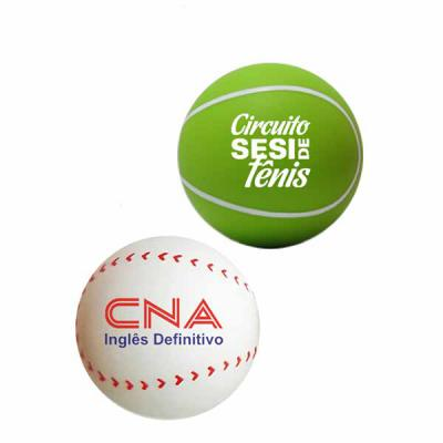 Direct Brindes Personalizados - Anti Stress Bola Esporte Personalizado