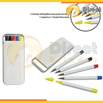 Direct Brindes Personalizados - Kit marca texto.