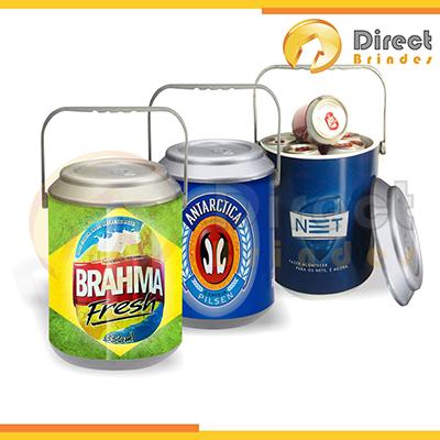 Direct Brindes Personalizados - Cooler personalizado estampada cabe 10 latas.