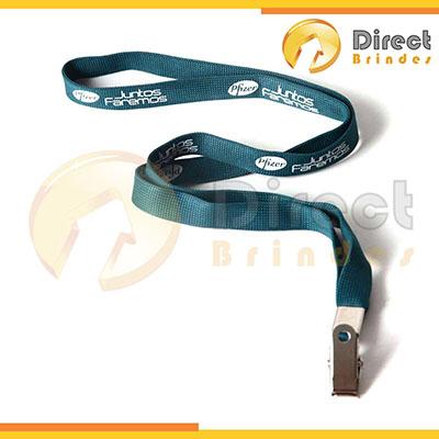 Direct Brindes Personalizados - Cordão para crachá em várias cores