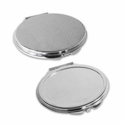Direct Brindes Personalizados - Espelho de Bolsa em Formato de Oval