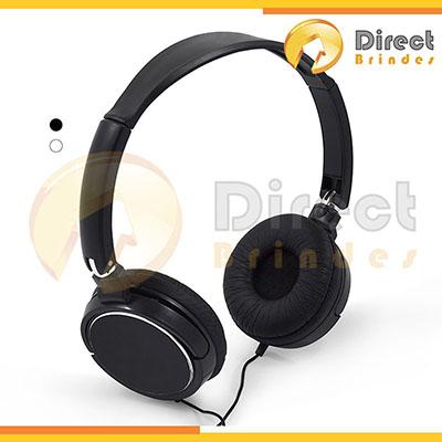 Direct Brindes Personalizados - Fone de ouvido dobrável.
