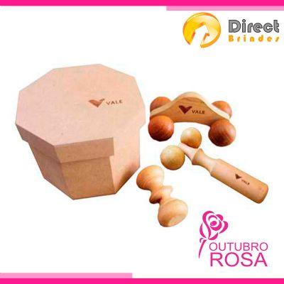 Direct Brindes Personalizados - Kit Spa massageadores