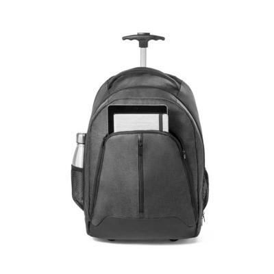 Direct Brindes Personalizados - Mochila trolley para notebook. 600D de alta densidade e poliéster 600D impermeável. Para notebook até 15.6''. Bolso frontal com zíper e bolsos laterai...