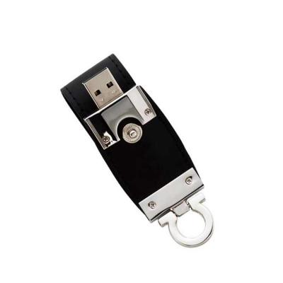 Direct Brindes Personalizados - Pen Drive Couro 4GB Personalizado