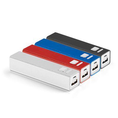 Direct Brindes Personalizados - Carregador Alumínio Portátil USB 2600MAH 1