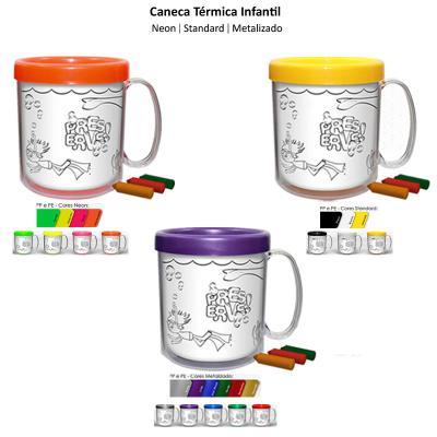Direct Brindes Personalizados - Caneca Térmica Infantil 1