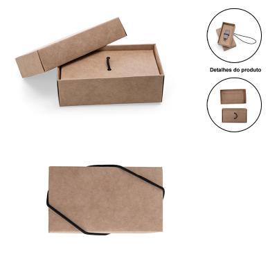 Direct Brindes Personalizados - Embalagem para Pen Drive em Papel Kraft 1