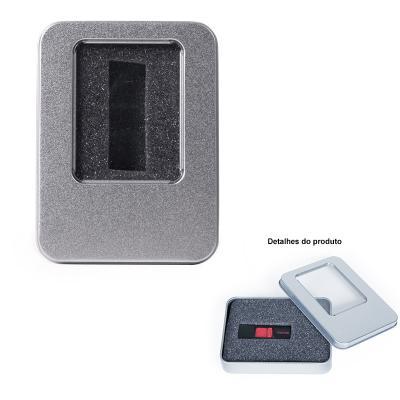 Direct Brindes Personalizados - Estojo/ Embalagem de Metal para Pen Drive 1