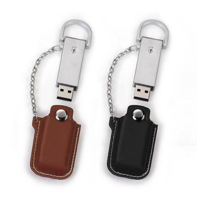 Direct Brindes Personalizados - Pen Drive Couro com Capa 8GB 1