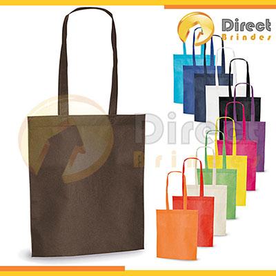 Direct Brindes Personalizados - Sacola em material Non-woven, tecido ecológico 100% reutilizável, fabricado em parte com materiais reciclados