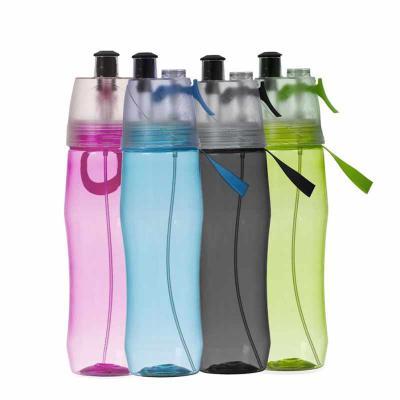 Direct Brindes Personalizados - Squeeze Plástico Borrifador 700ml Brilhante Personalizado