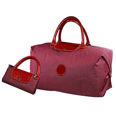 UP Couro - Sacola promocional personalizada dobrável, confeccionada com detalhes em couro ou sintético