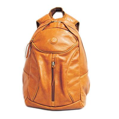 UP Couro - Mochila personalizada em couro ou sintético, forro em nylon, alça acolchoada e porta lap top