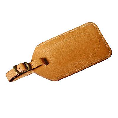 UP Couro - Tag de mala em couro ou sintético. Medidas 13x7 cm
