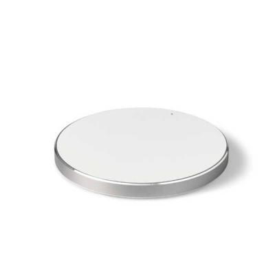 canarinho-brindes - Carregador wireless fast. ABS e alumínio. Com entrada Input: 5V/2A e 9V/1,67A e potência de carregamento 5W, 7.5W e 10W. Incluso cabo USB/micro USB pa...