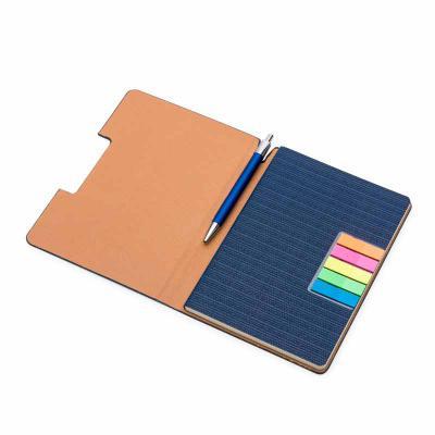 Canarinho Brindes - Bloco de anotações Personalizado confeccionado com capa sintética. Capa interna com 5 bloquinhos autocolantes coloridos com aproximadamente 25 folhas...