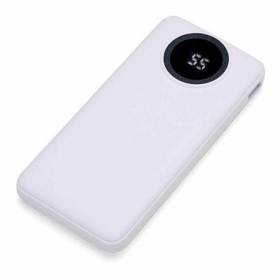 Canarinho Brindes - Power Bank Personalizado Carregador portátil de 10.000mAh com display digital indicador de bateria, contém duas lanternas de led e quatro cabos de saí...