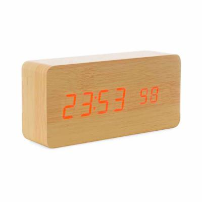 Canarinho Brindes - Relógio digital LED  Personalizado