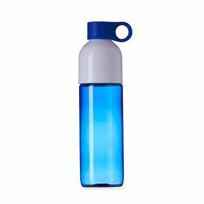canarinho-brindes - Squeeze plástico 700ml com tampa de suporte anelar. Squeeze colorido, possui tampa rosqueável na cor branca;  devido sua largura facilita a higienizaç...